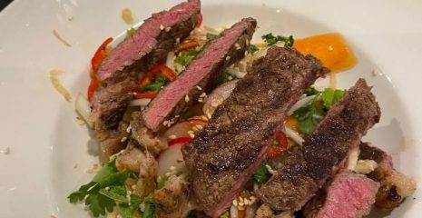 Asian style seared beef salad – Diabetic Friendly