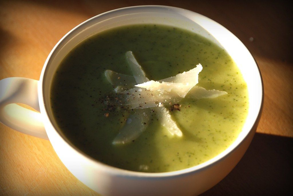 Courgette and Leek Soup